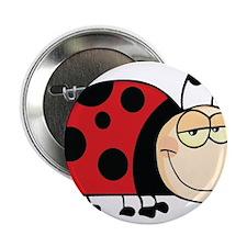 "Cute Ladybug 2.25"" Button"