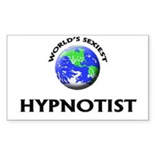 World's Sexiest Hypnotist Decal