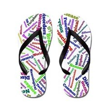 Neuroscience Cloud Flip Flops