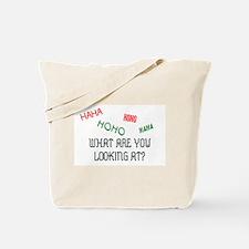 HAHAHOHO Tote Bag