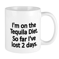 Im on the Tequila Diet Mug