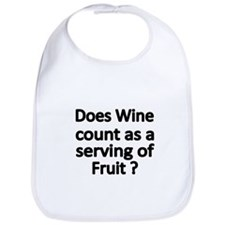 DOES WINE COUNT AS A SERVING OF FRUIT Bib