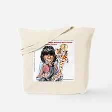 Michelle Obama Big Bang Theory Tote Bag