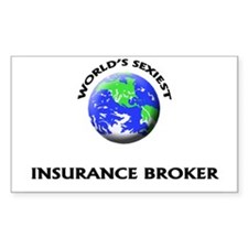 World's Sexiest Insurance Broker Decal