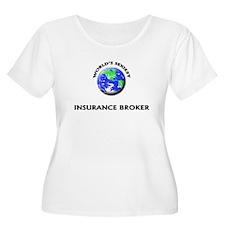 World's Sexiest Insurance Broker Plus Size T-Shirt