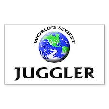 World's Sexiest Juggler Decal