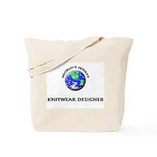 World's Sexiest Knitwear Designer Tote Bag