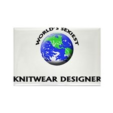 World's Sexiest Knitwear Designer Rectangle Magnet