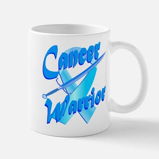 Cancer Warrior Blue Mug