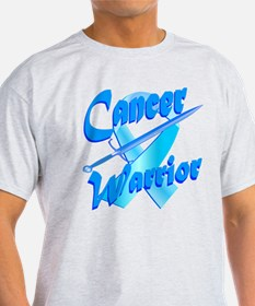 Cancer Warrior Blue T-Shirt