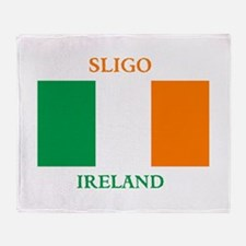 Sligo Ireland Throw Blanket