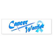 Cancer Warrior Blue Bumper Bumper Bumper Sticker