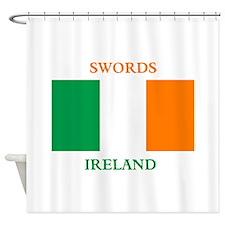 Swords Ireland Shower Curtain