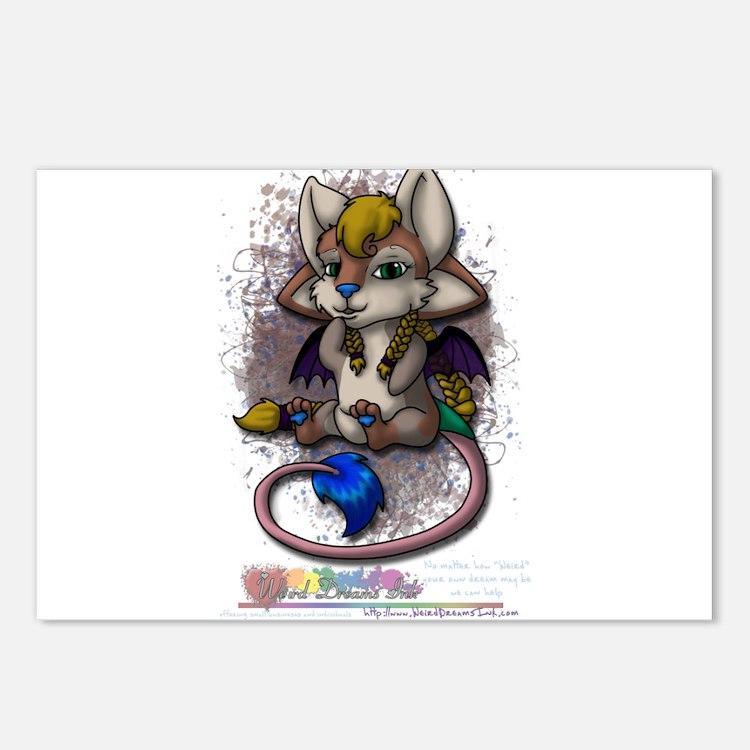 Cute Mira Postcards (Package of 8)