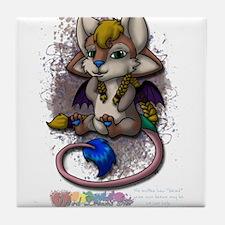 Cute Mira Tile Coaster