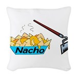 Nacho Hoe Woven Throw Pillow