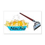 Nacho Hoe 20x12 Wall Decal