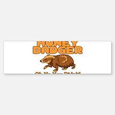 Oh No Honey Badger Bumper Bumper Sticker