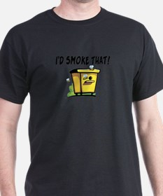 I'd Smoke That Bee Hive T-Shirt