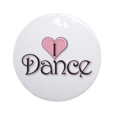 I Dance Ornament (Round)