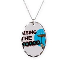 Raising The Steaks Necklace
