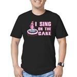 I Sing On The Cake Men's Fitted T-Shirt (dark)