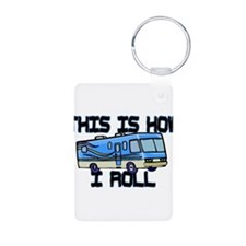 How I Roll RV Keychains