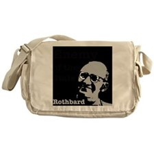 Enemy of the State - Rothbard Messenger Bag