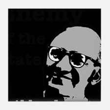 Enemy of the State - Rothbard Tile Coaster