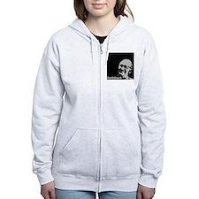 Enemy of the State - Rothbard Zip Hoodie