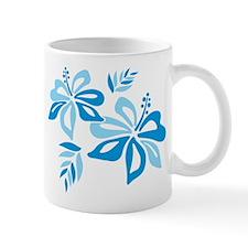 Blue Hibiscus Mug