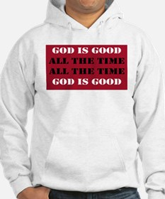 God is Good, All the Time - Red Hoodie