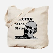 Enemy of the State - Rothbard Tote Bag
