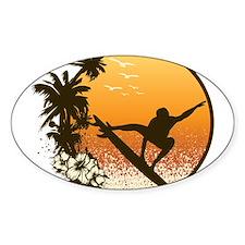 Tropics Surf Decal