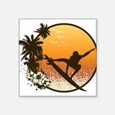 Tropics Surf Sticker