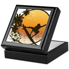 Tropics Surf Keepsake Box