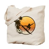 Surf Canvas Totes
