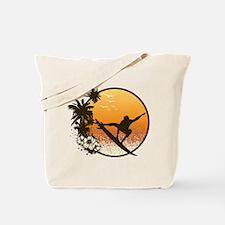 Tropics Surf Tote Bag