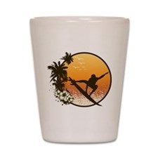 Tropics Surf Shot Glass