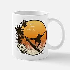 Tropics Surf Small Small Mug