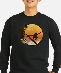 Tropics Surf Long Sleeve T-Shirt