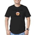 Don't Call Me Cupcake Men's Fitted T-Shirt (dark)