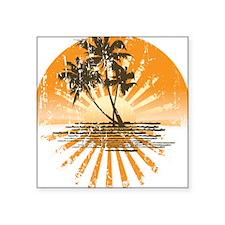 Island Sunset Sticker