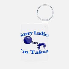 I'm Taken Keychains