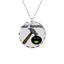 Freakin Hammered Necklace