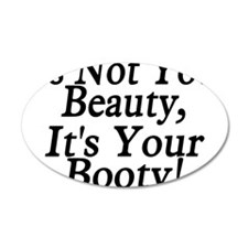 Booty Beauty Wall Decal