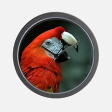Parrot Talker Wall Clock