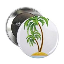 """Palm Tree 2.25"""" Button (100 pack)"""