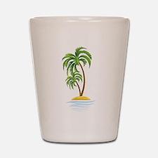 Palm Tree Shot Glass
