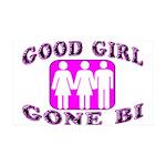 Good Girl Gone Bi 35x21 Wall Decal
